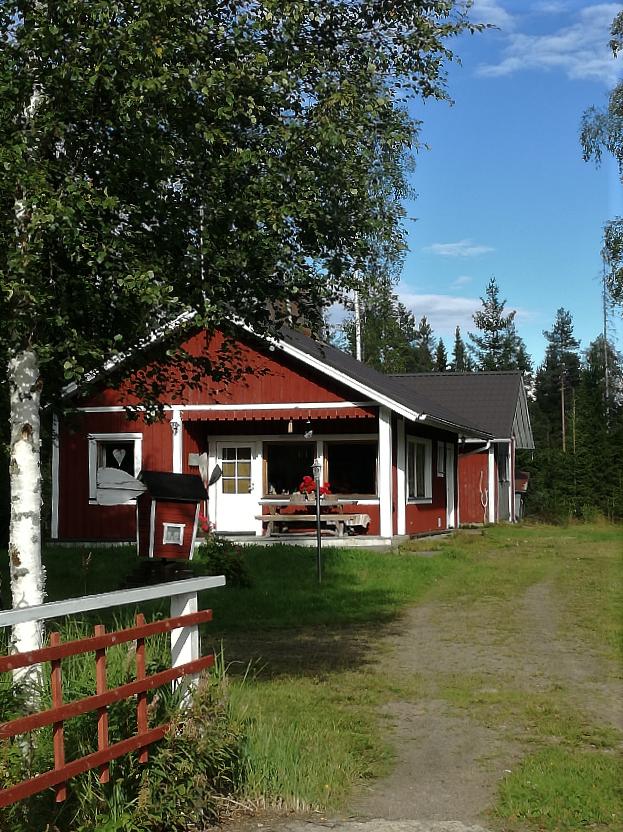 kuvassa punainen talo